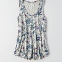 AEO Soft & Sexy Favorite Tank , Gray