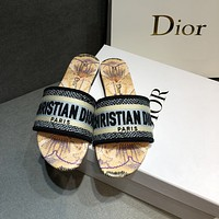 Dior summer new women's slippers shoes