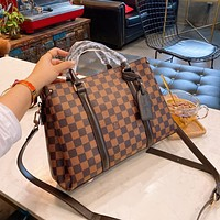 Louis Vuitton LV Hot Sale New Checked Ladies Check Tote Bag Shoulder Bag