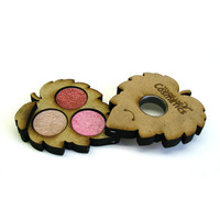Eye Shadow Trio - Mineral Makeup Pallet - Organic Eye Shadows - Natural Makeup - Gifts For Her - Pink Eye Shadows - B3