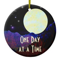 Valley of the Moon ODAT Ceramic Ornament