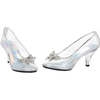Costume Shoes: Shoes Glass Slipper | Size: 8