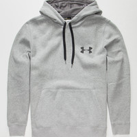 Under Armour Rival Mens Hoodie Heather  In Sizes