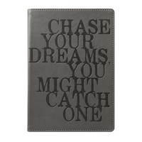 Eccolo World Traveler Lofty Thinking Journal, Chase Your Dreams, 6 x 8 Inches (D402C)