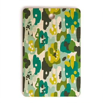 Heather Dutton Painted Camo Cutting Board Rectangle