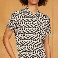 Soulstar Abstract Print Shirt