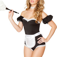 Black French Maid Costume
