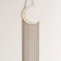 Moon Fringe Wall Hanging   Urban Outfitters