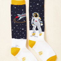 Landing of Opportunity Youth Socks | Mod Retro Vintage Socks | ModCloth.com