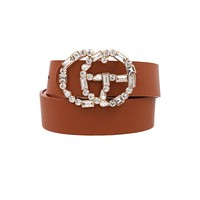 Money Cant Buy You Class Belt (Brown)