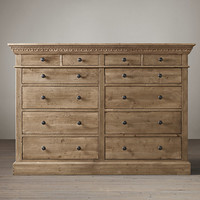 Entablature 12-Drawer Dresser