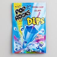 Blue Raspberry Pop Rocks Dips | World Market