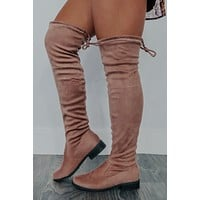 Better Than Ever Boots: Blushed Nude