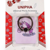 Purple Unicorn Phone Ring