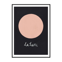 la lune / limited edition print