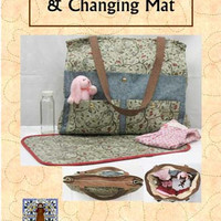 Ultimate Diaper Bag and Changing Mat Pattern