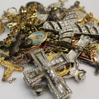 Lot of 40+ Religious Charms & Pendants - Crosses, Saints, Mother Mary, Popes and more
