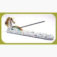 """Rainbow Unicorn"" Incense Catcher"