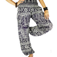 Elephant pants Palazzo pants Thai pants Hippie cloches Hippie pants Gypsy pants  Harem pants Elephant cloches