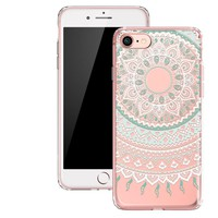 Boho Cover Anti-Scratch Case for iPhone X 8 7 6S Plus &Gift Box