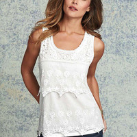 Sophia Tiered Lace Top