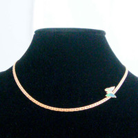Avon Gold Chain with Butterfly Vintage Lucky Butterfly
