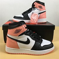 Air Jordan 1 Retro Rust Pink 861428 101 Size 36 40