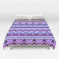 Mix #76 - Double Size - Purple Duvet Cover by Ornaart | Society6