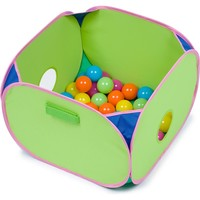 "Marshall Pet Products Pop N Play Ferret Ball Pit Toy, 14"" L X 14"" W X 10"" H 