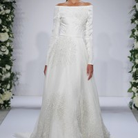 Dennis Basso A-Line Wedding Dress | Kleinfeld Bridal