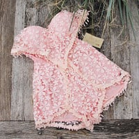 Adobe Sky Romper in Pink