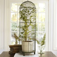 Tall Wire Birdcage