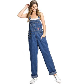 Rancher Denim Overalls - Plus Size