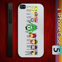 Minion Avengers Design for iPhone 4/4s and iPhone 5 Case