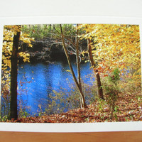 """Photo Note Cards Set of 4 Series """"At the River"""" Handmade LittlestSister"""