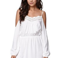 LA Hearts Cold Shoulder Dress - Womens Dress