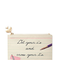 dot your i's pencil pouch