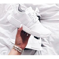 Adidas NMD R1 3M Reflective shoelace Fashion Trending Running Sports Shoes F