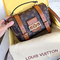 Onewel Louis Vuitton LV 2020 Retiro handbags and motorcycle bags are made of the iconic LV presbyopic fabric