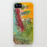 She (colagraf series) iPhone Case by Moonlight Studio   Society6