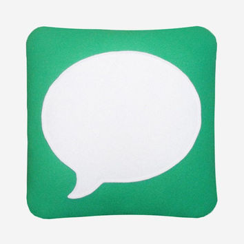 Messages Pillow