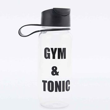Gym & Tonic Water Bottle - Urban Outfitters