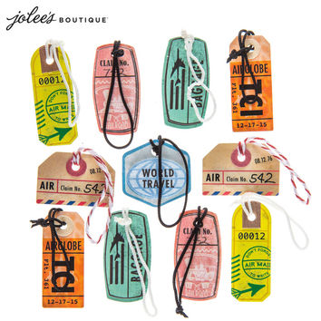 Travel Tags 3D Stickers   Hobby Lobby   526491