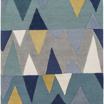 Kennedy Area Rug Blue