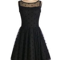 ModCloth LBD Mid-length Sleeveless Fit & Flare Before the Opera Dress