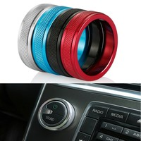 Car Air Conditioning Rotary Knob For VOLVO S60 V60 XC60 S60 LS80 V40 Air Conditioning Heat Control Switch/Sound Knob Accessories