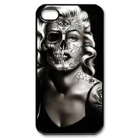 Marilyn Monroe Skull Face iPhone 4/4s Case Back Case for iphone 4/4s