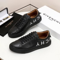 GIVENCHY   Man Fashion Casual Shoes Men Fashion Boots fashionable Casual leather Breathable Sneakers Running Shoes Sneakers