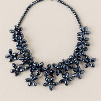 Wales Glass Statement Necklace