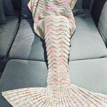 Mermaid Party to Be Adored Warm Blanket